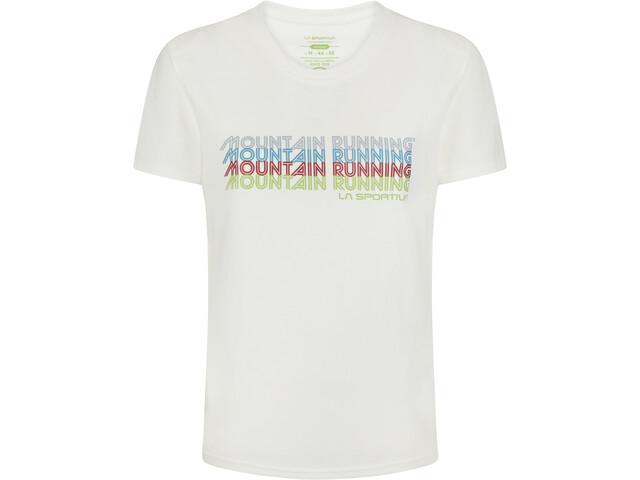 La Sportiva Mountain Running T-Shirt Women, white